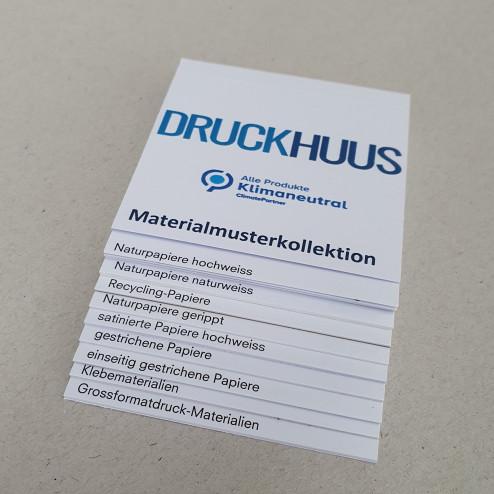 Materialmuster- Büchlein