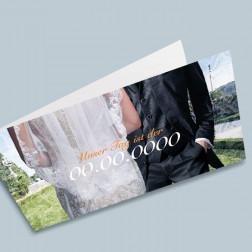Hochzeitskarte Garten A6/5 gefaltet