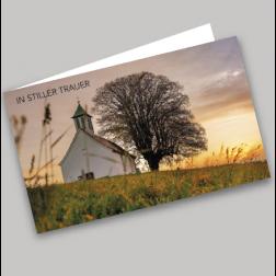 Trauerkarte Kirche