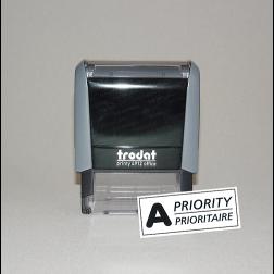 Stempel «A-Priority»