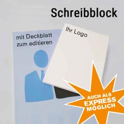 Schreibblock neutral