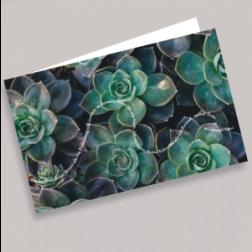 Trauerkarten Pflanze 180x110mm gefaltet
