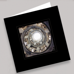 Trauerkarten Treppe 140x140mm gefaltet