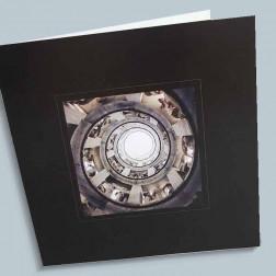 Trauerkarte Treppe 140x140mm gefaltet