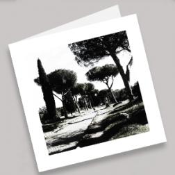 Trauerkarten Via Appia 140x140mm gefaltet