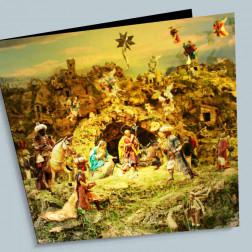 Weihnachtskarte Presepe 140x140mm gefaltet