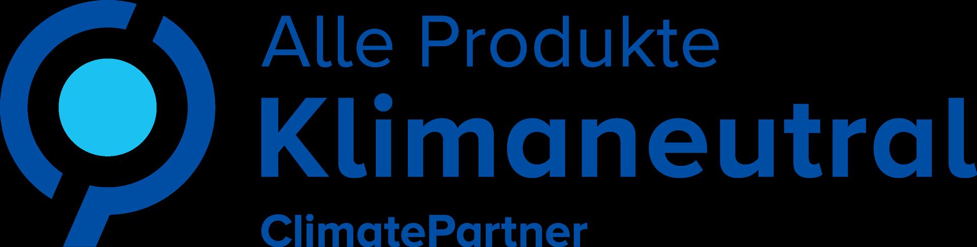 ClimatePartner - Alle Produkte Klimaneutral
