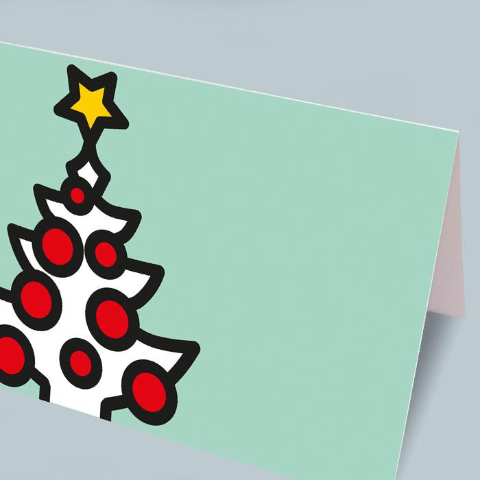 Weihnachts- und Neujahrs-Karten